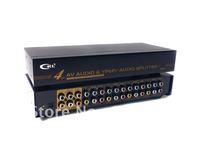 AV+YPbPr+Audio Splitter(4 Port)