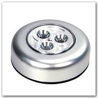 1pcs/lot Mini 3 LED Battery Push Powered Stick Tap Touch Lamp Light hot sell