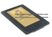 Hot ebook +ebook reader 7inch+ mp4 function+4GB e-book reader+Gift pu Leather Case +7inch