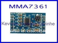Wholesale 50pcs/lot  MMA7361 Triple Axis Accelerometer Module for AVR PIC(alternative MMA7260)