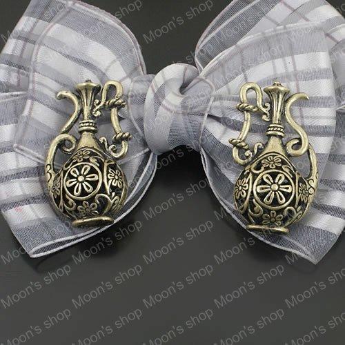 (25362)Alloy Findings,charm pendants,Antiqued style bronze tone Bottle 5PCS(China (Mainland))