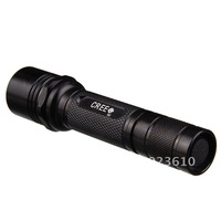 Free Shipping,UltraFire WF504B XM-LT6 5-Mode 600-Lumen White LED Flashlight with Strap (1 x 18650)