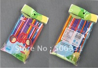 Free shipping, wholesales, Plastic Party Drinking Straws