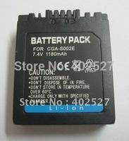 1180mAh CGA-S002E DMW-BM7 Battery for Panasonic Lumix DMC-FZ1 DMC-FZ10 DMC-FZ15  Free shipping