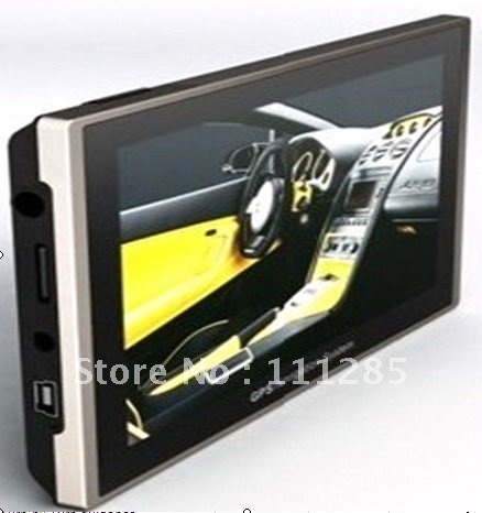 special offer car GPS navigation with free map TV bluetooth optional FREESHIPPING(China (Mainland))