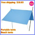 Free shipping   Portable beach outdoor leisure vacation tents camping