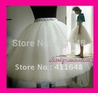 Womens Gauze Tulle Balley Pincess TUTU Skirt White Black Pink Champagne Free Shipping Wholesale & Retail