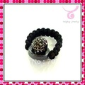 freeshipping/2012 latest crystal beads rings, new fashion rings,charm jewelry