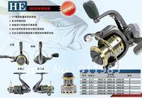 Pacific HE2000 metal head  Fishing reel  Fishing line wheels  3Bearings Fishing Tackle