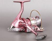 Viva Flowery style AK500 Pink Fishing reel  Fishing line wheels  4Bearings Fishing Tack