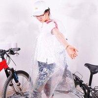 INBIKE portable disposable Electric Bicycle transparent poncho raincoat riding equipment