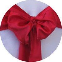 Free shipping -    top quality chair cover sash /satin sash