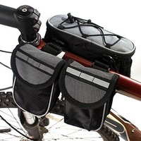 INBIKE package mountain bike before the four-in-one bike tube package saddle bag with rain cover