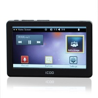 Free Shipping Good Quality 4.3 Inch Touch Screen FULL HD MP4/MP5 Player 4GB