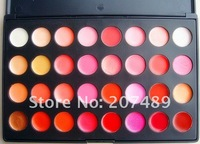 32 full color makeup palette professional comestics set lip gloss Lipsticks Gorgeous dropshipping