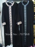 Fashionable color brick black robes&003