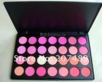 28 full color makeup palette professional comestics set  powder blush mixed cheek FACE beauty wholesale
