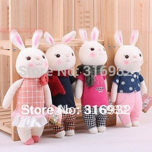 J1 Super cute plush toy doll stuffed toy Tiramitu metoo rabbit 30cm, 1pc, 8 colors for your choice