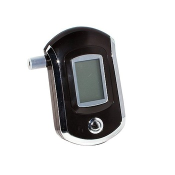 Portable Pocket Professional Police Digital Breath Alcohol Tester,Breathalyzer Analyzer, LCD Display, Free Shipping