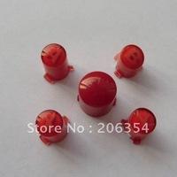10sets a lot/for xbox360 controller colour ABXY button set (Transparent Red)