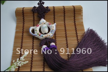 Maintenance of life, supplied by the factory, Teapot (air)  Chinese knots, household/automobiles decorative goods, gifts
