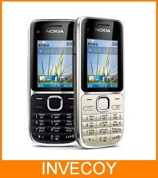 C2-01 Original NOKIA Unlocked cell phone C2-01 with freeship