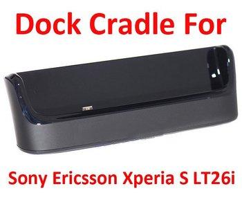 Estación de muelle de la horquilla para Sony Xperia S LT26i Xperia Arc HD , alta calidad , envío libre + envío de la gota sin paquete al por menor