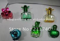 2013 latest 15ml-20ml colorful perfume glass bottle