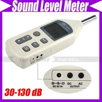 30-130dB Digital Sound Level Meter Decibel Logger Tester Noise Meter #2444