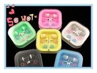 100pcs/lot,Fashionable earbuds,3.5mm in-ear earphones promotional earplug epad/Mid mp3,mp4 for ipod ipad iphone  free shipping