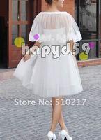 9pcs  bow bridal wraps women dress wedding lace shawl bride shawl free ship fashion design