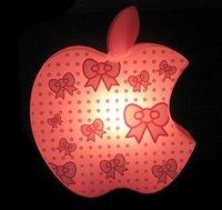 hot sale apple desk lamp with money pot/ apple table lamp