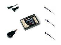 Hitec HTS-SS Blue Electric Sensor Station - Basic 50A Pack