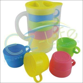 Promotion gifts,  creative coffee cup set fashion tea mug, 4pcs/set, outdoor travel cup set
