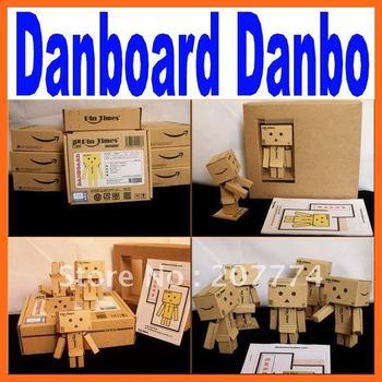 Lovely Danboard Danbo Doll Mini Figure Toy Assembled Danbo Model Cute Cartoon figure Toy in 8cm Free Shipping