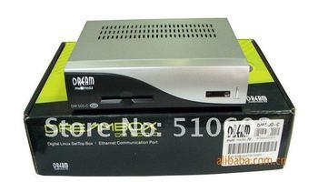 1pcs digital TV satellite receiver DM500C DM500-C DVB set top box black and silver black colors free shipping