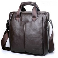2012 NEW ARRIVAL EXCELLENT QUALITY Genuine Leather business bag cowhide single shoulder bag 100% Hot sell !!!FREE SHIPPING