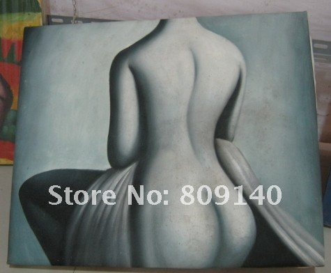 nude oil painting Lady Woman Back naked Portrait Modern decoration high ...