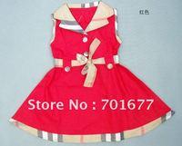 5#2610 aged 2 - 6 children dress kids dress baby dress