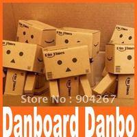Lovely Danboard Danbo Doll Mini Figure Toy Assembled Danbo Model Cute Cartoon figure Toy in 8cm Free drop Shipping