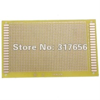 Safe ship,NEW Universal 9*15cm Glass-epoxy Prototype Single-side PCB Printed Circuit Board 3.5 x 6 inch