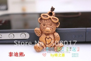 Promotion!Lovely Teddy bear phone charm/keychain/cute mobile phone strap,wholesale price+50pcs/lot,free shipping