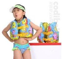 Shipping Free INTEX 59661 happy fish kids life jacket for lifesaving safety equipment