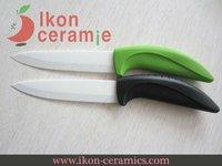 """Free Shipping! High Quality 5"""" Ikon Ceramic utility knife combination 100% Zirconia Ceramic Knife(AJ-5001W-2G-GB)"""