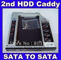 SATA 2nd Hard Disk Drive SSD HDD Caddy Adapter bay For ASUS K53 K54 K55 K61 K62 Series Laptop