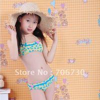 2012 (10Pcs/Lot) Free Shipping Wholesale Selling High-end Children's/Kids Bikini,Children's Swimwear,Lovely Girls Swimming Suit