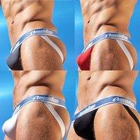 Free shipping/10pcs/lot/men's sexy jockstrap/best quality/men's underwear