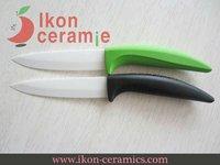 "Free Shipping! High Quality 4"" Ikon Ceramic paring knife combination 100% Zirconia Ceramic Knife(AJ-4001W-2G-GB)"