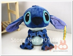 "Free shipping 13"" Stitch Plush Stuffed Genuine for export High Quality Soft Plush Figure doll Toy(China (Mainland))"