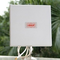 2.4Ghz Wireless14DBI Outdoor Flat WiFi Directional Antenna F Router Weatherproof